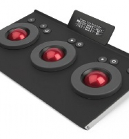Tangent Element Tk: Trackerball panel (3U)