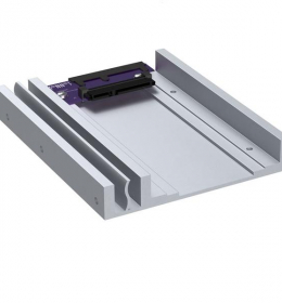 """Sonnet Transposer, 2.5"""" SATA SSD to 3.5"""" Removable Tray Adapter"""
